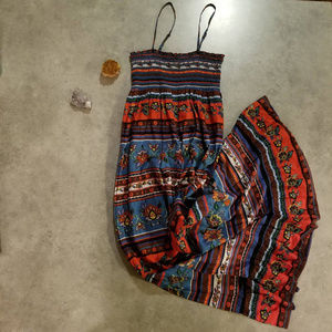 100% Cotton Forever 21 Maxi Dress, Size Medium